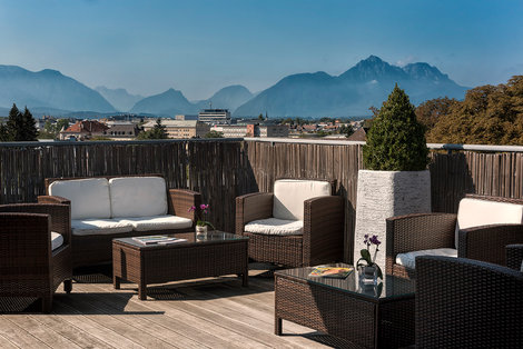 Wyndham Grand Salzburg Conference Centre Club Lounge